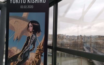 Gunnm – Yukito Kishiro Panel in Paris